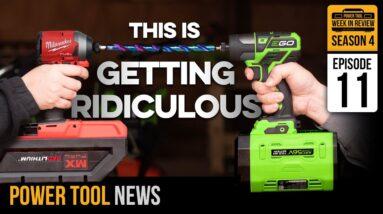 BIG Batteries. BIG Power. Is it worth it? Power Tool News S4E11