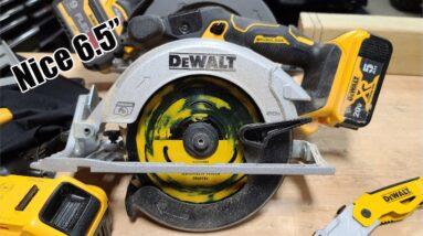 "DEWALT 20-Volt Brushless 6-1/2"" Circular Saw DCS565P1 Review"