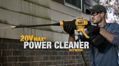 DeWALT 20V MAX 550 PSI Cordless Power Cleaner