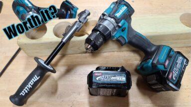 """Makita 40V max XGT Brushless 1/2"""" Hammer Drill-Driver Review GPH01"""