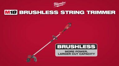 Milwaukee 2828 M18 Brushless String Trimmer