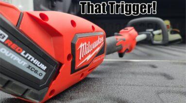 Milwaukee Tool M18 Brushless String Trimmer Review Model 2828-20
