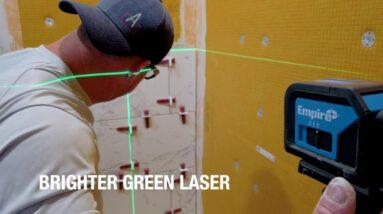 [NEW] Empire Cross Line 75' Green Laser Level
