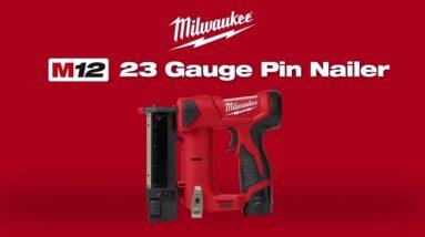 [NEW] Milwaukee M12 23 Gauge Pin Nailer