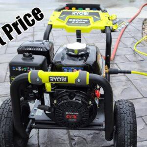 RYOBI 3,600 PSI 2.5 GPM Gas Pressure Washer With Honda GX200 Engine Review RY803600