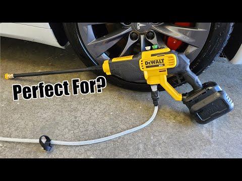 DEWALT 20-Volt 550 PSI Cordless Power Cleaner Kit Review DCPW550P1