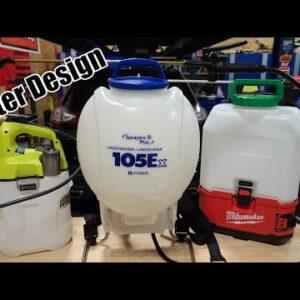 The Better Alternative to Milwaukee's Switch Tank Or Ryobi Sprayer | Sprayers Plus 105Ex Backpack