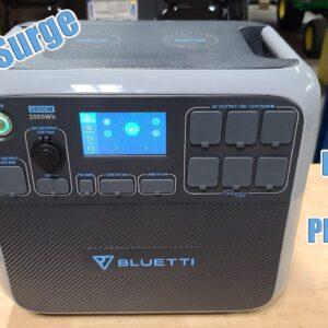 Ultimate Battery Inverter Solar Power Generator 4800 Watt Surge 2000 Watt Continuous Bliuetti AC200P