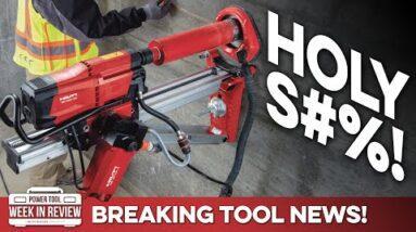 BREAKING! Hilti ANNOUNCES new drill system, NEXT STEP towards autonomous jobsite! Power Tool News!
