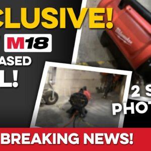 EXCLUSIVE: Spy Photos of UNRELEASED Milwaukee M18 Tool!