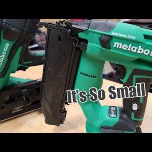 New Smaller Metabo HPT 18g Brad & Framing Nailers