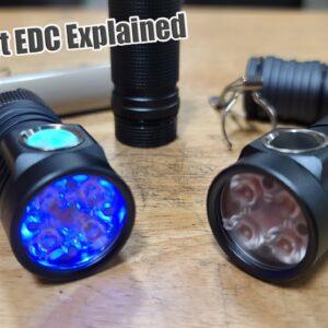 THE Best EDC Flashlight (YOU NEED THESE!) EMISAR D4V2