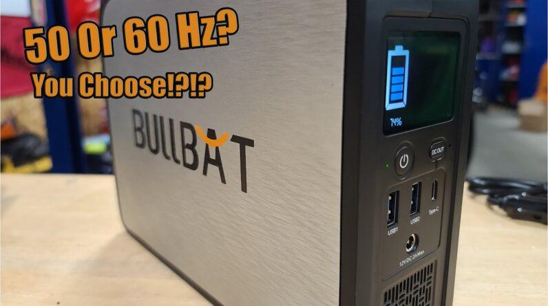 BullBat 50Hz Or 60Hz 250 Watt Lithium Generator Review