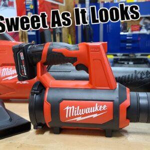 Milwaukee M12 Compact Spot Blower Review | Model 0852-20
