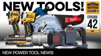 BREAKING! Insane New Power Tools from Milwaukee, DeWALT, Makita, and more! Power Tool NEWS
