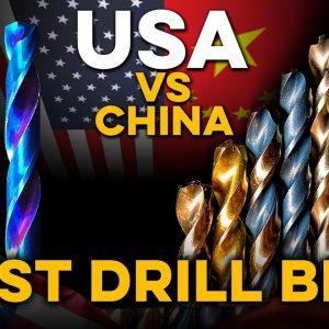 What Drill Bit is Best? America takes on China. Milwaukee, DeWALT, Bosch, Ryobi take on Spyder 100x